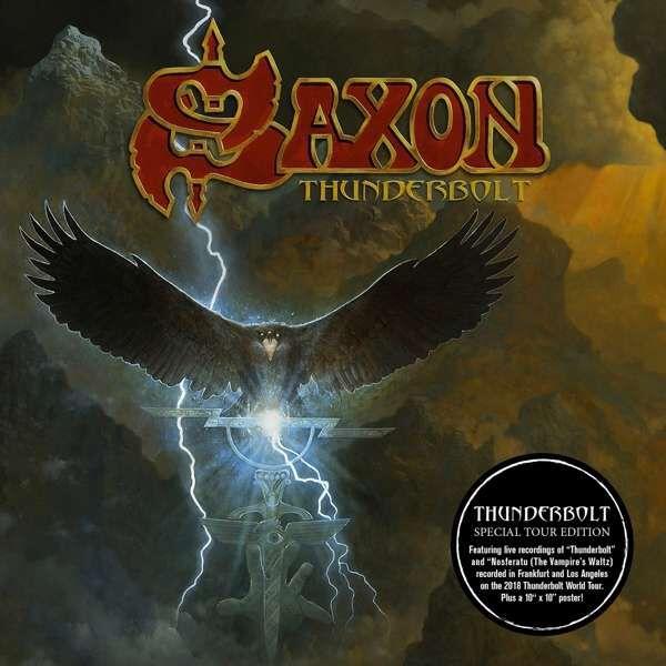 Saxon Thunderbolt CD Standard