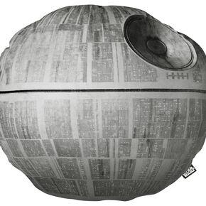 Star Wars L'Étoile De La Mort Coussin décoratif gris