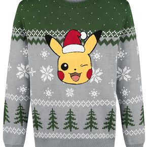 Pokémon Pikachu Pull tricoté multicolore