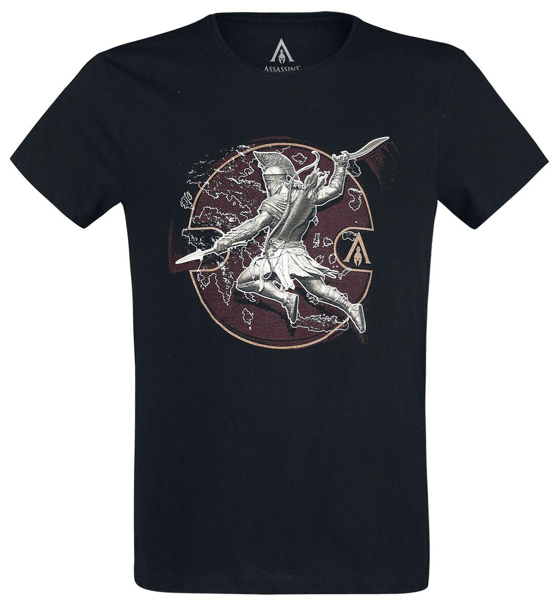 Image of   Assassin's Creed Odyssey - Alexios Desitiny T-Shirt sort