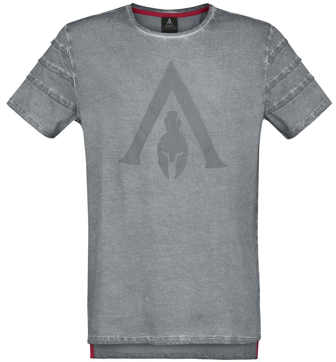 Image of   Assassin's Creed Odyssey - Logo T-Shirt grå