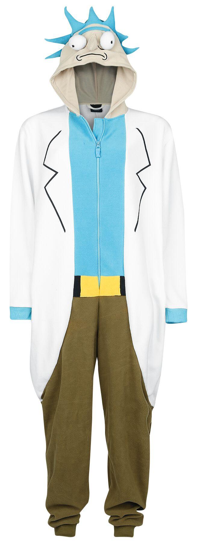 Image of   Rick And Morty Rick Jumpsuit multifarvet