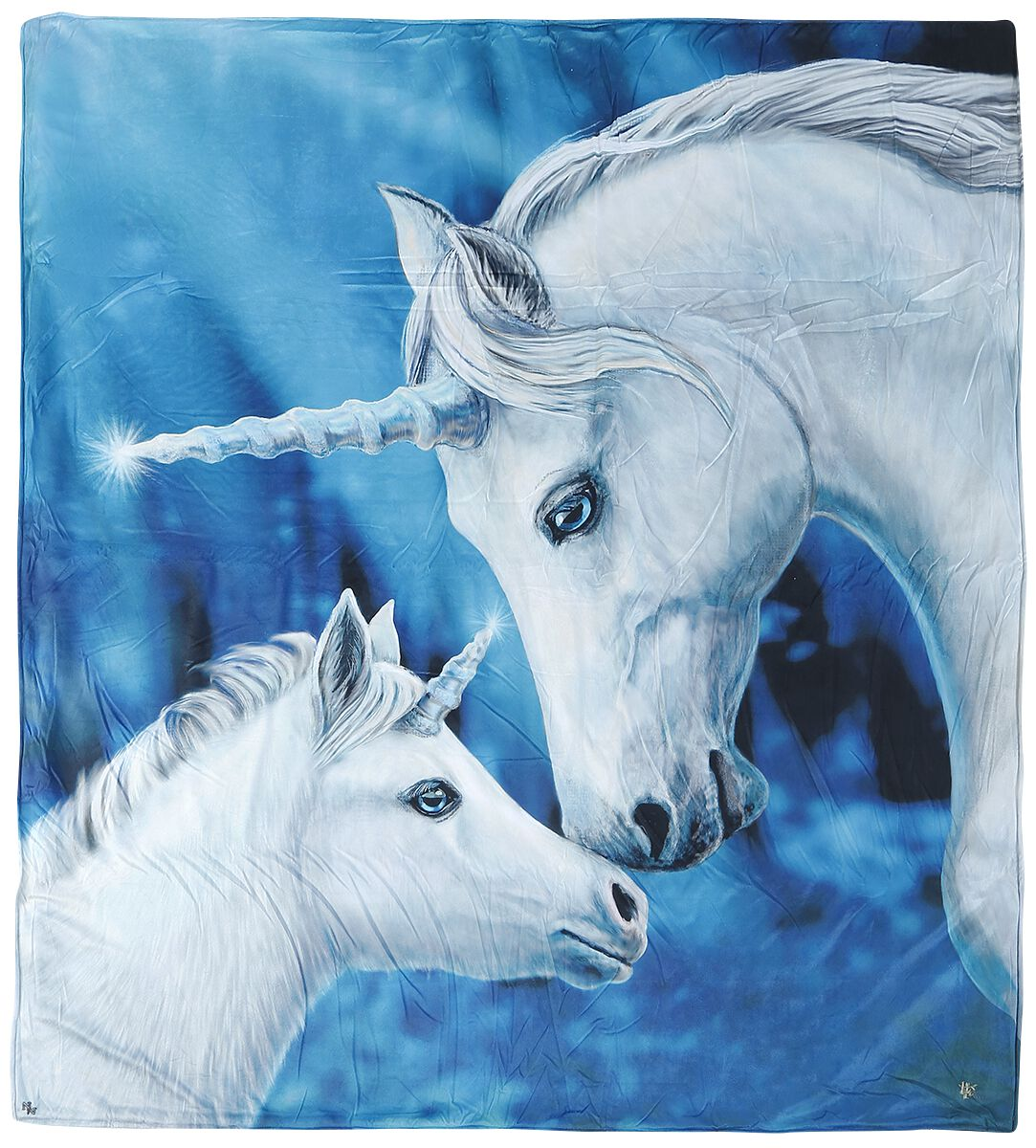 Image of   Nemesis Now Sacred Love Fleecetæppe Standard