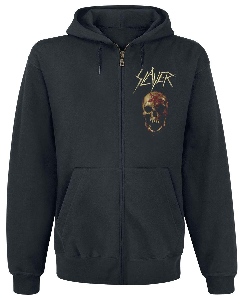 Image of   Slayer Shield Skull Hættejakke sort