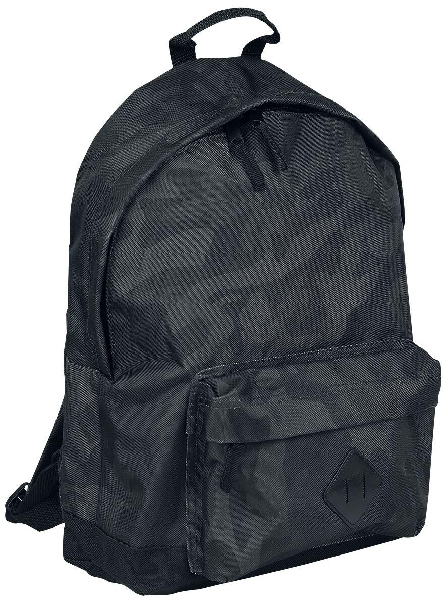 Image of   BagBase Camo Backpack Rygsæk mørk camo