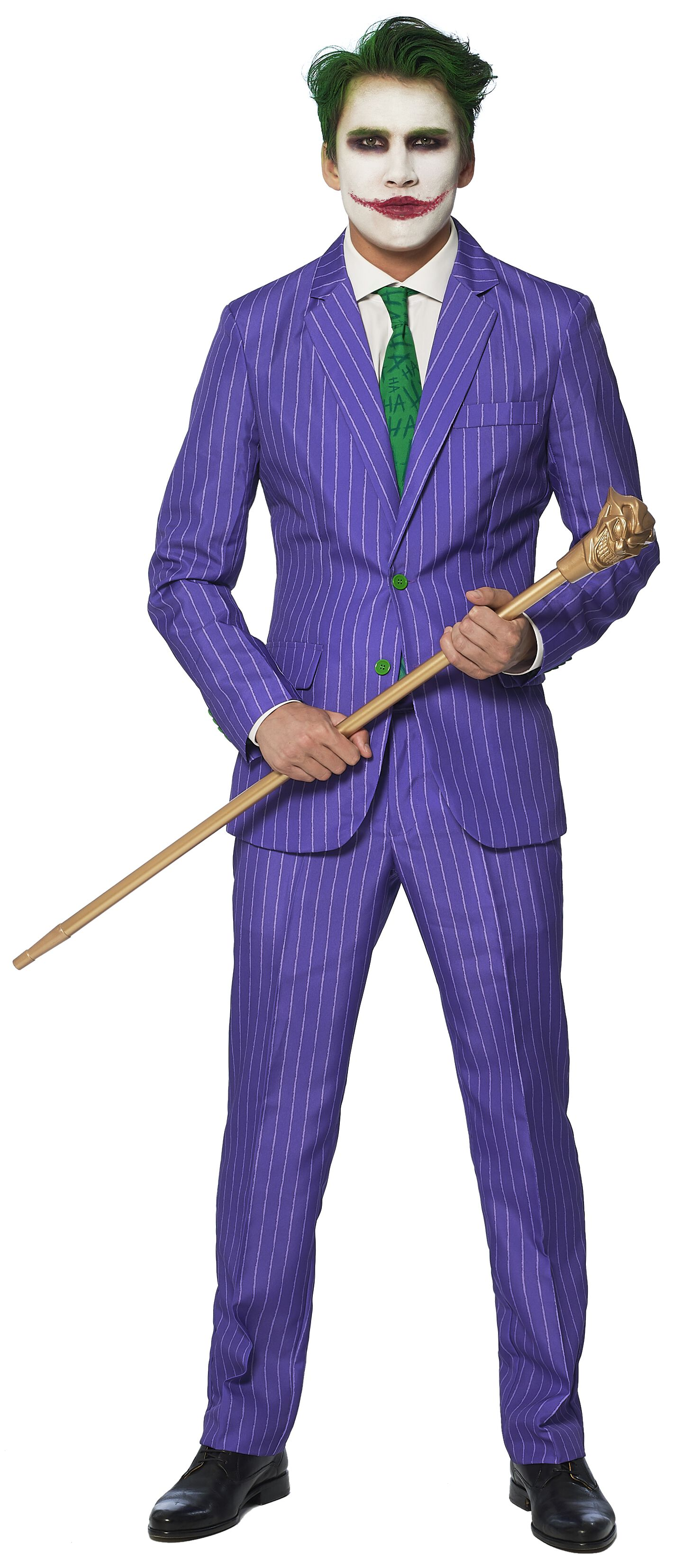Image of   The Joker Opposuit Kostume Standard