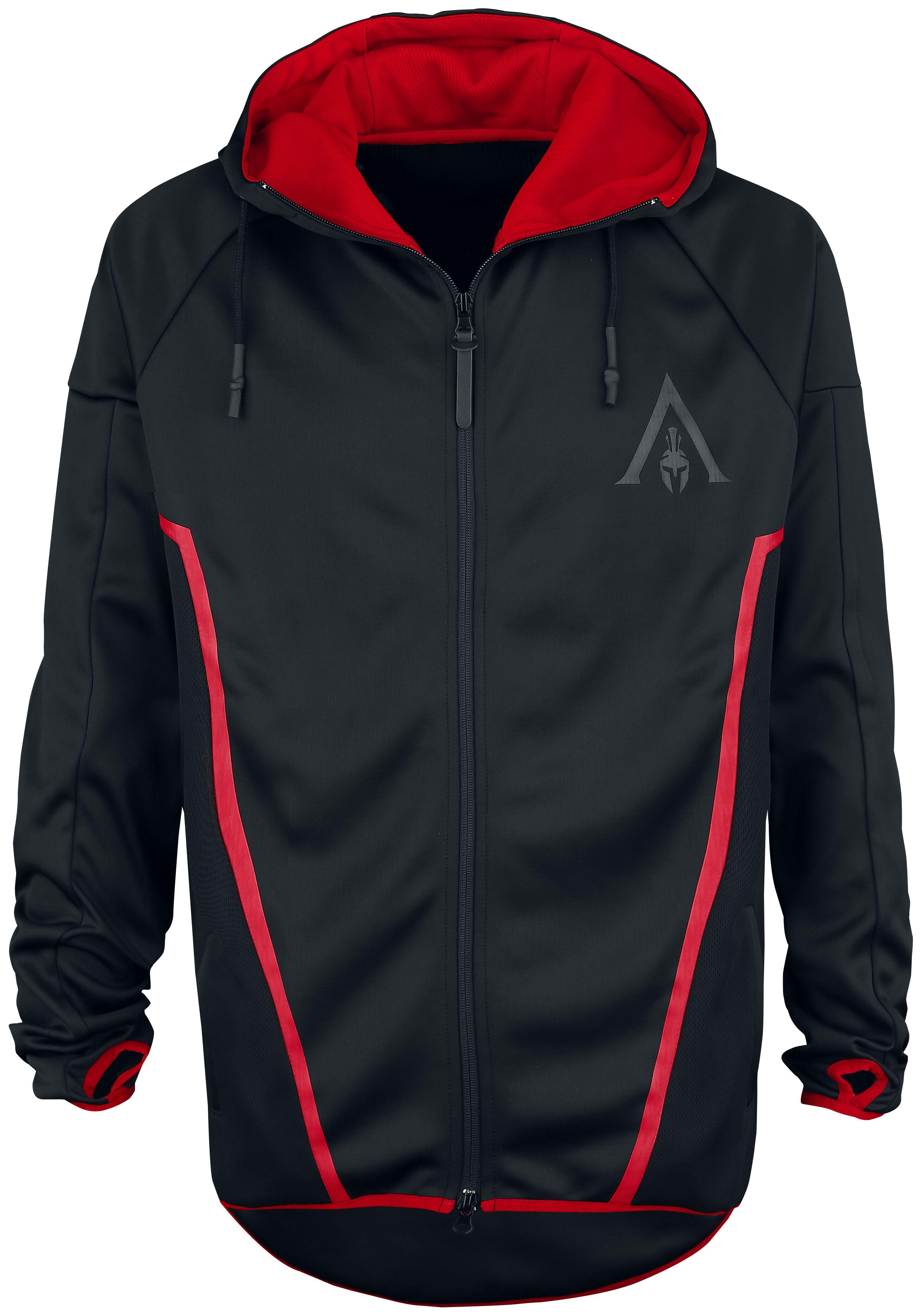 Image of   Assassin's Creed Odyssey - Technical Hexagonal Hættejakke sort