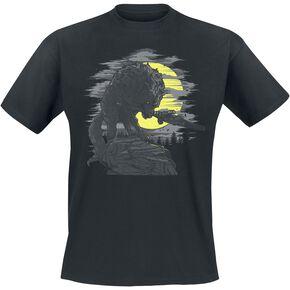 Dark Souls Great Grey Wolf T-shirt noir