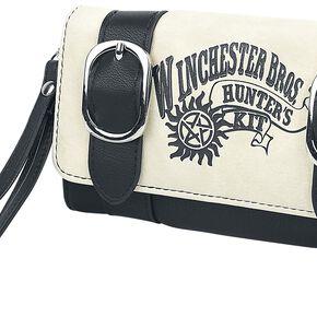 Supernatural Winchester Bros. Portefeuille noir/blanc