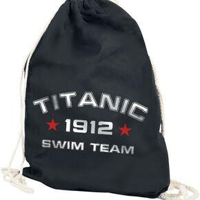 Titanic Swim Team Sac de Gym noir