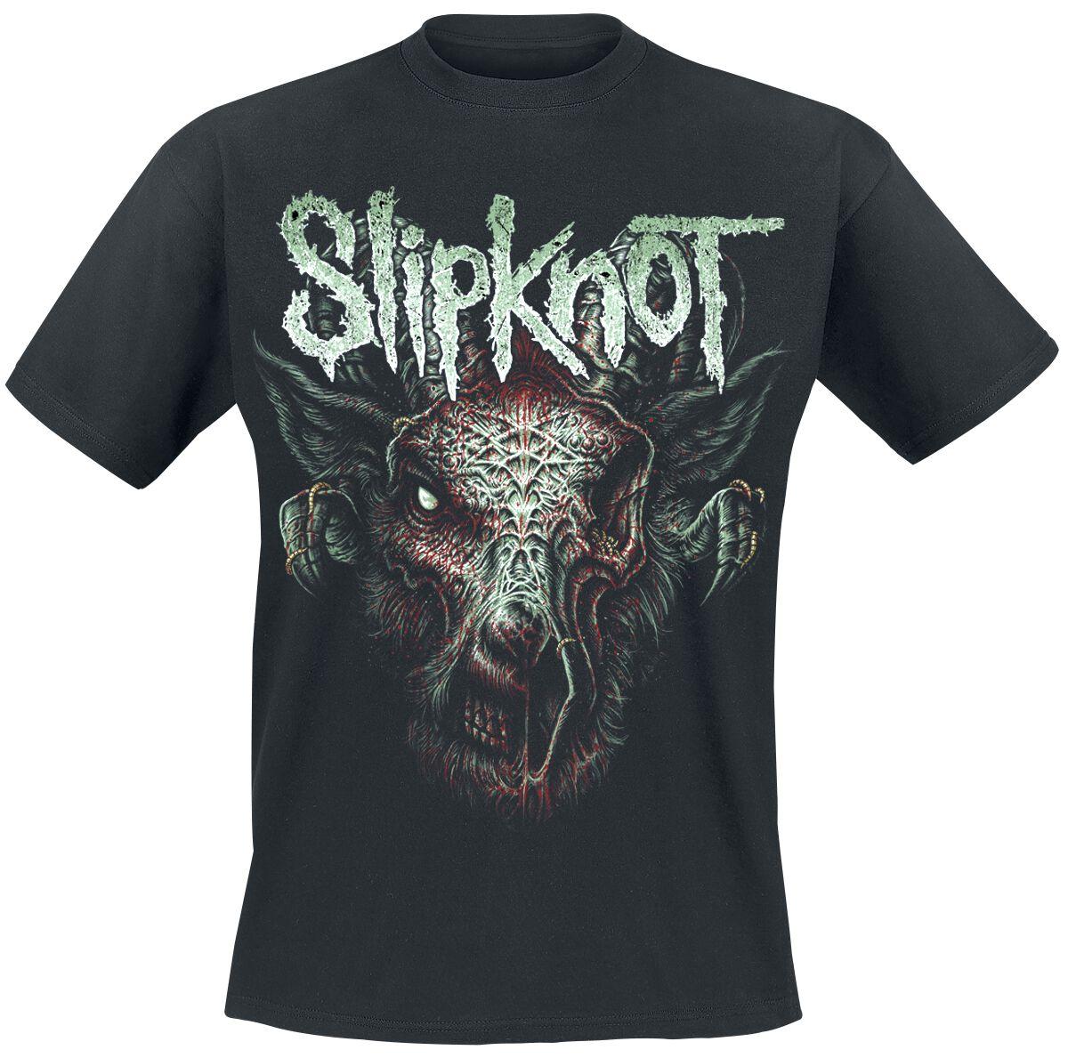 Image of   Slipknot Infected Goat T-Shirt sort