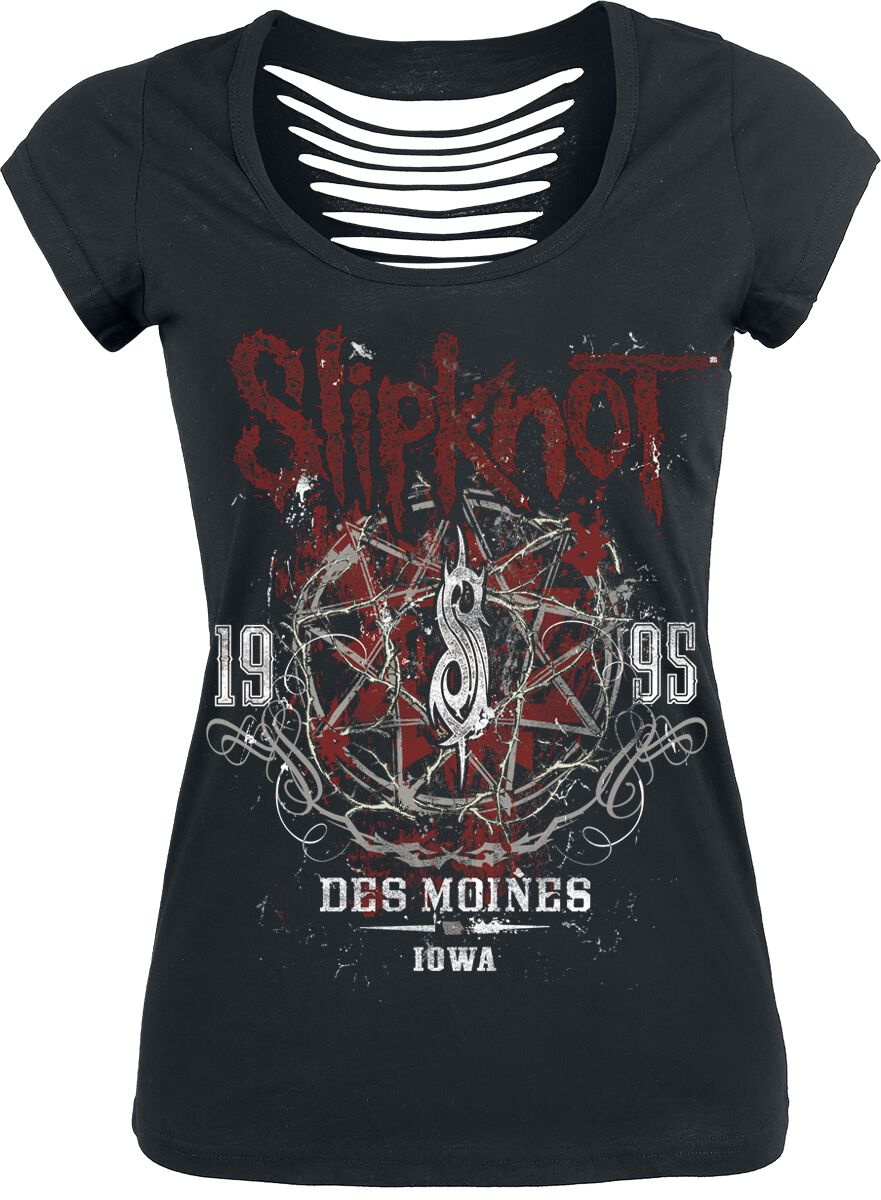 Image of   Slipknot Iowa Star Girlie trøje sort