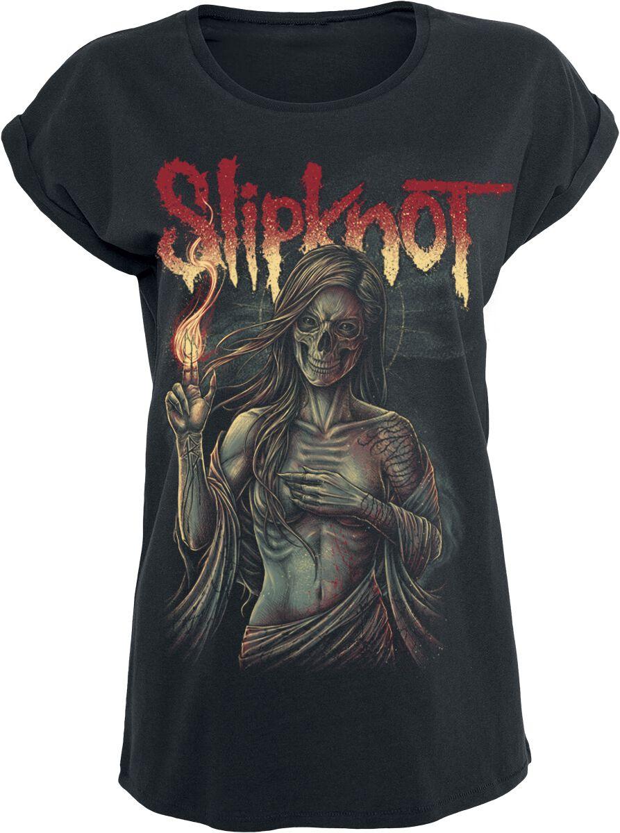 Image of   Slipknot Burn Me Away Girlie trøje sort