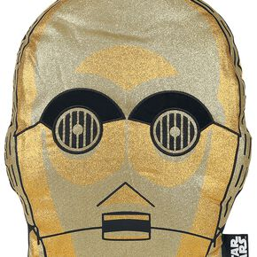 Coussin Star Wars C-3PO - Doré