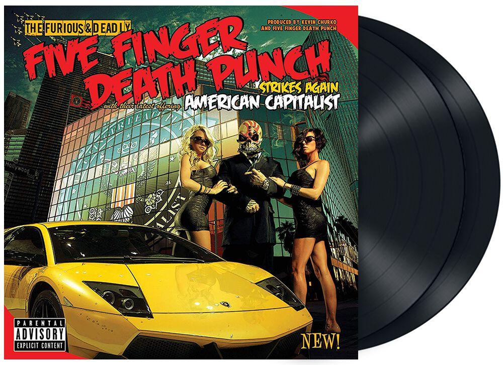 Image of   Five Finger Death Punch American capitalist 2-LP standard