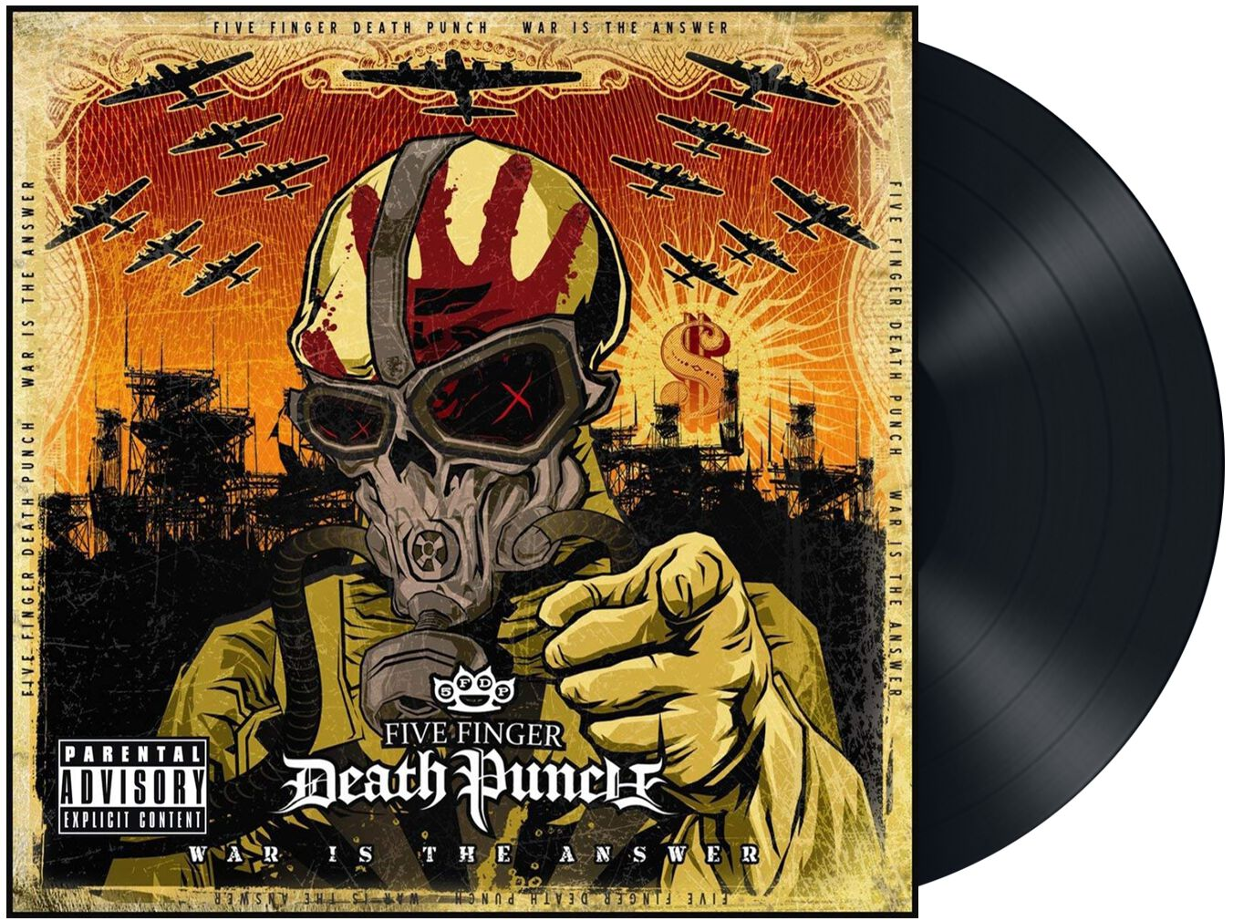 Image of   Five Finger Death Punch War Is The Answer LP standard