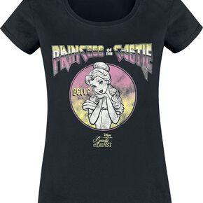 La Belle Et La Bête Princess Of The Castle T-shirt Femme noir