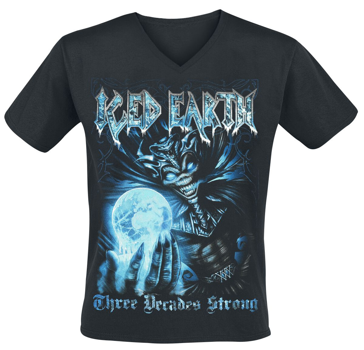 Image of   Iced Earth Something Wicked T-Shirt brun