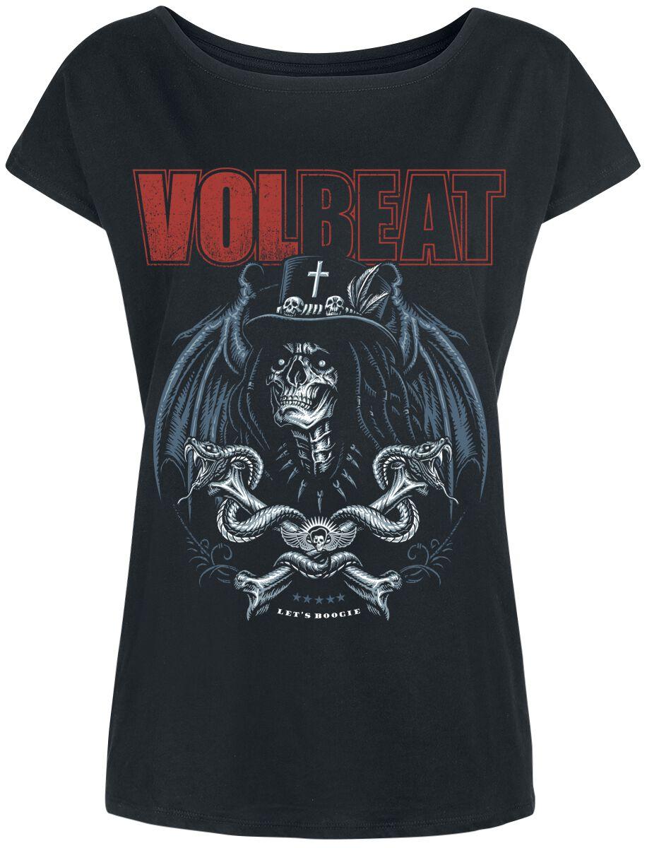 Image of   Volbeat Voodoo Boogie Girlie trøje sort