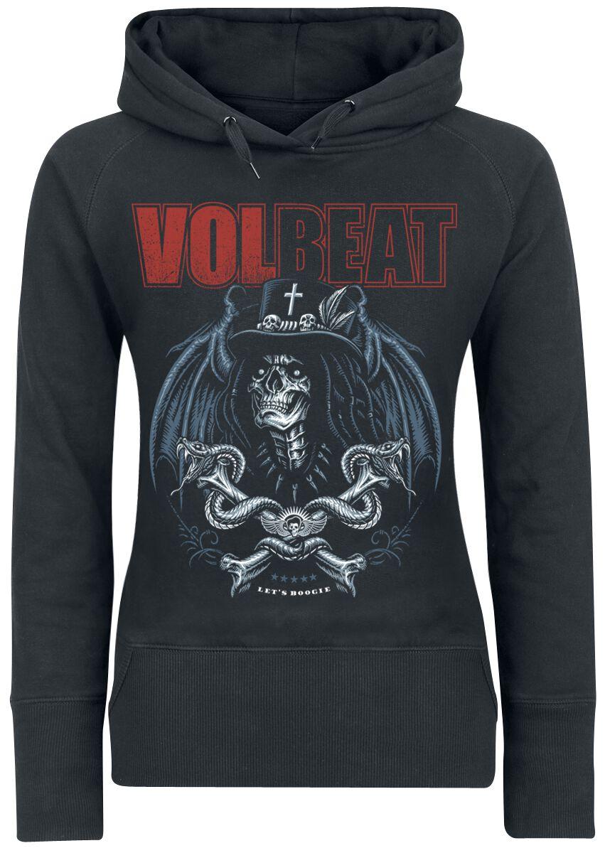 Image of   Volbeat Voodoo Boogie Girlie hættetrøje sort