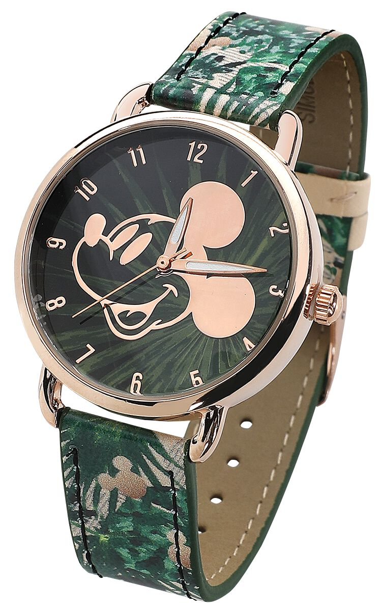 Image of   Mickey & Minnie Mouse Micky Armbåndsur multifarvet