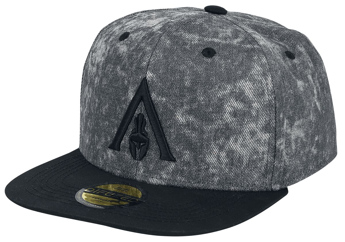 Image of   Assassin's Creed Odyssey - Apocalyptic Snapback Cap grå