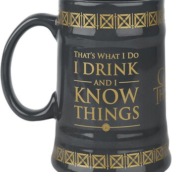 Game Of Thrones (Drink & Know Things) Ceramic Stein