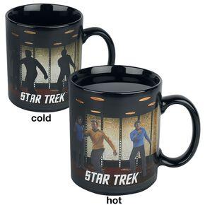 Star Trek Transporter - Heat-Change Mug Mug multicolore