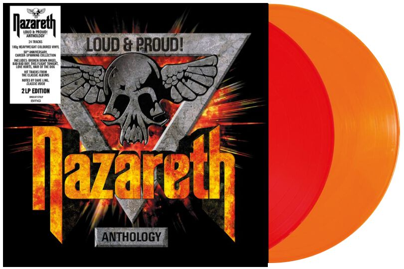 Nazareth Loud & proud! Anthology 2-LP Standard