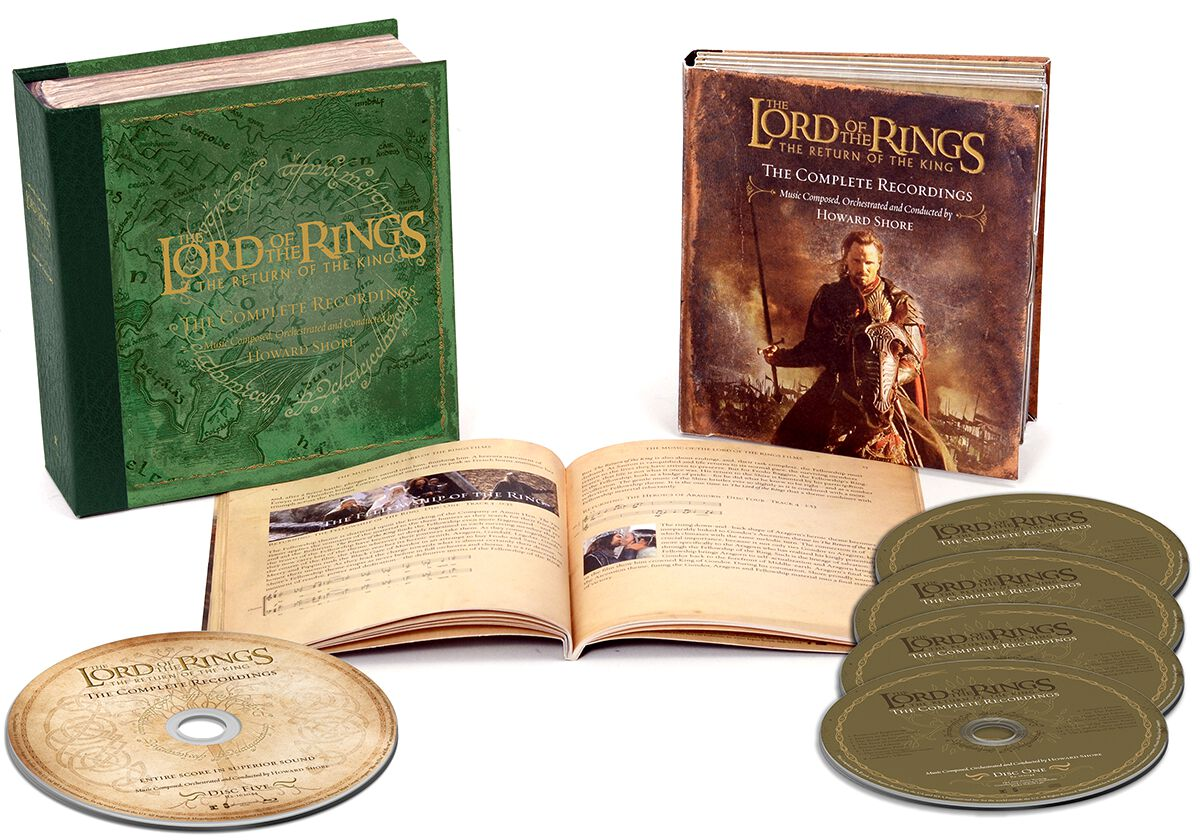 Image of   Ringenes Herre The lord of the rings: Return of the king 4-CD & Blu-ray standard