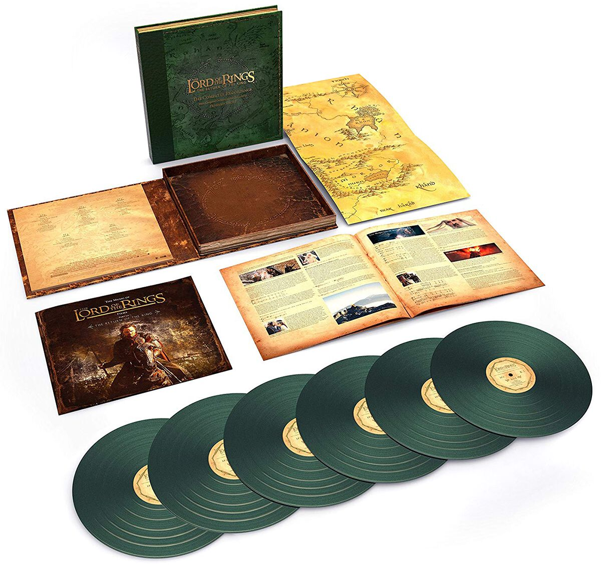 Image of   Ringenes Herre The lord of the rings: Return of the king 6-LP BOX standard