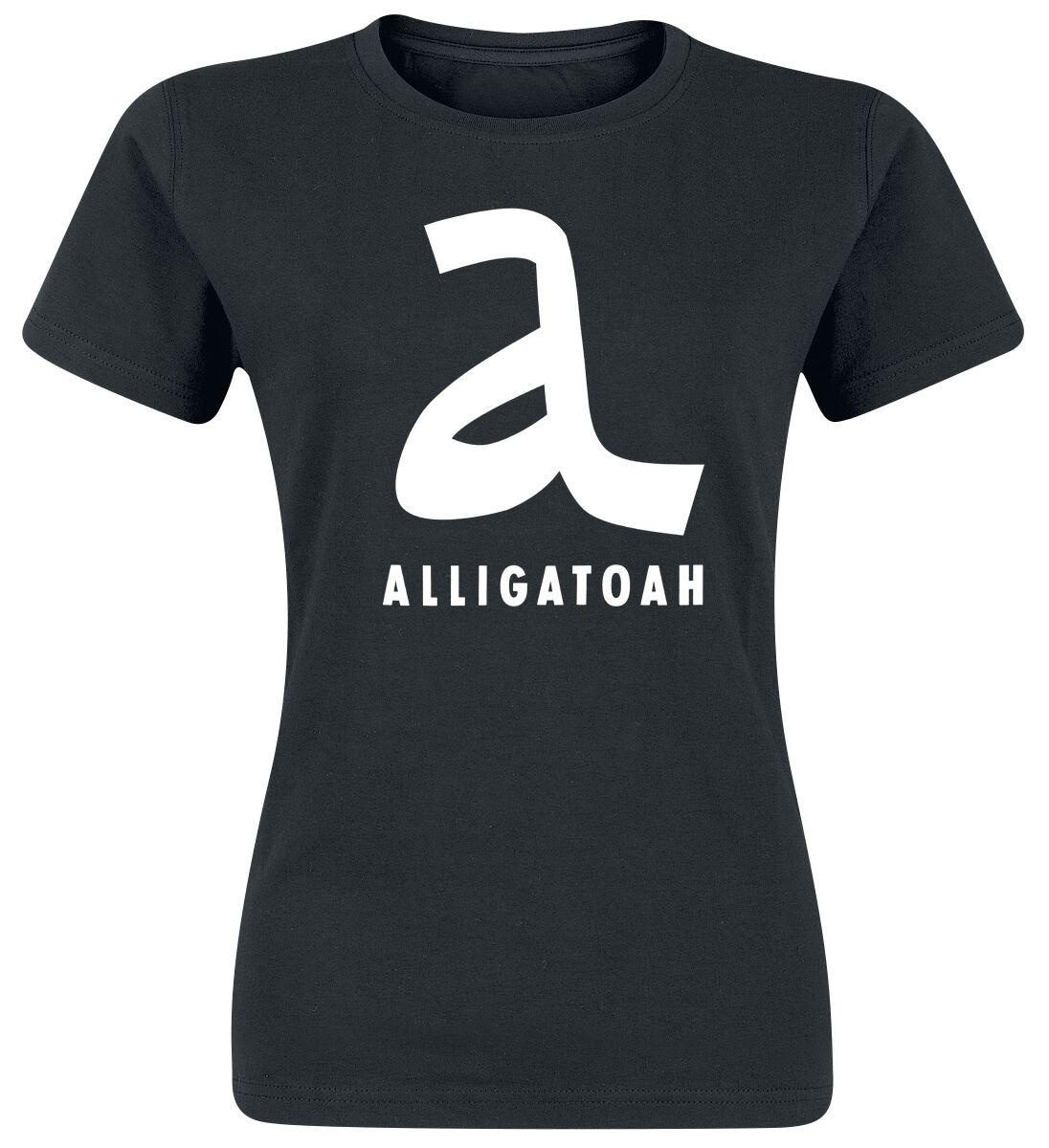 Image of   Alligatoah A-Logo Girlie trøje sort