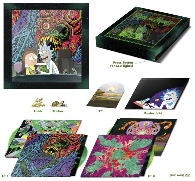 Image of   Rick And Morty The Rick And Morty Soundtrack 2-LP & 7 inch Standard