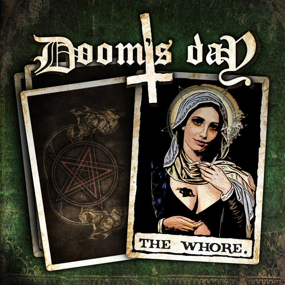 Image of   Doom's Day The whore CD standard