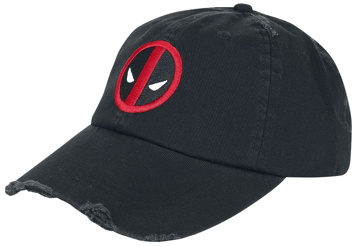 Image of   Deadpool Logo - Vintage Baseball Cap sort