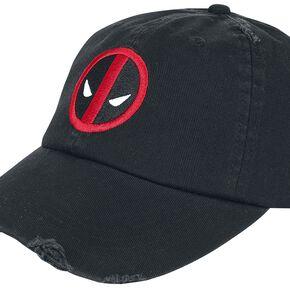 Deadpool Logo - Vintage Casquette Baseball noir