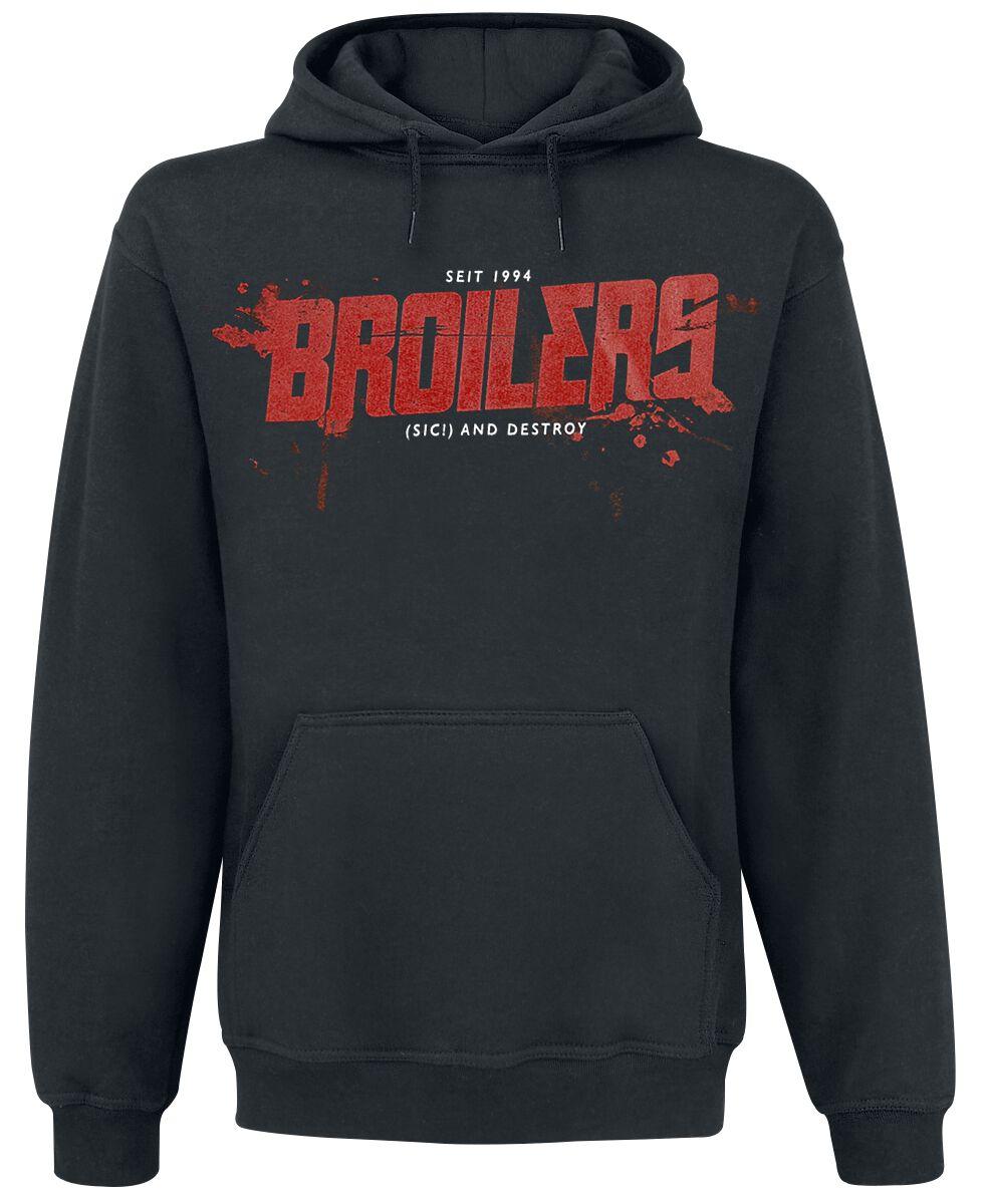 Image of   Broilers (Sic!) And Destroy Hættetrøje sort