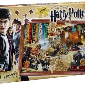 Puzzle Enfant - Harry Potter Poudlard (1000 Pièces)