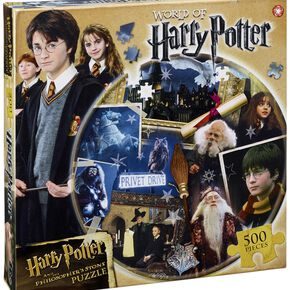 Harry Potter Kids Round 500 Piece Puzzle - Philosophers Stone