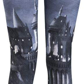 Harry Potter Poudlard Legging multicolore