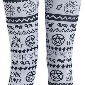 Supernatural Symbols Legging multicolore