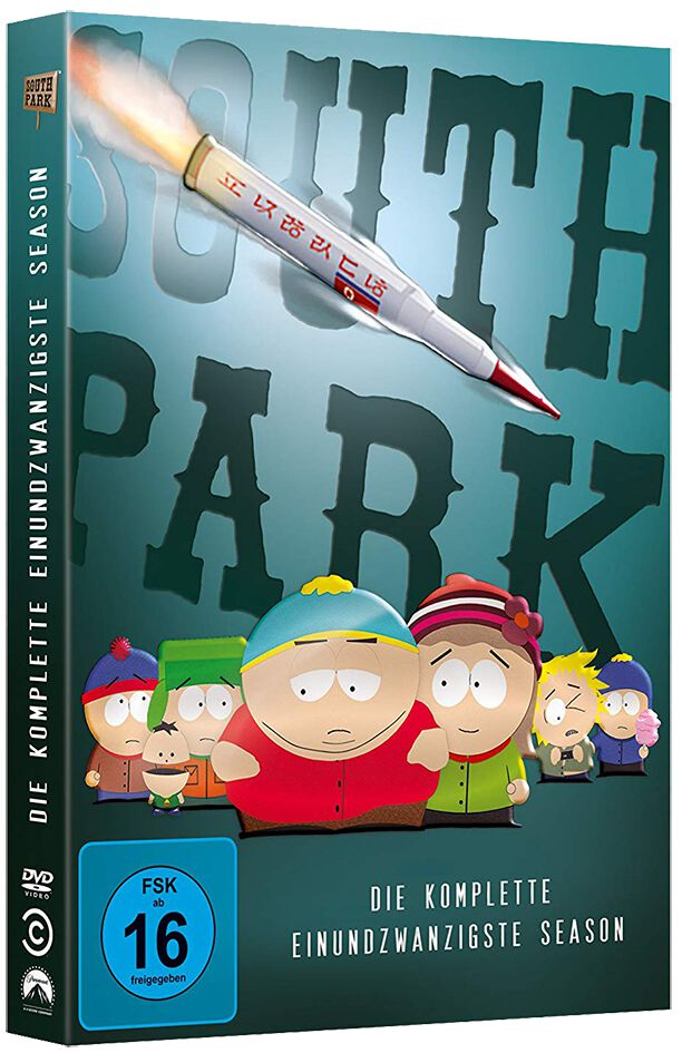 South Park Season 21 2-DVD Standard