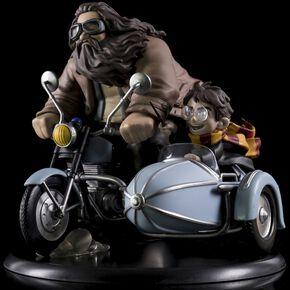 Statuette Harry Potter et Rubeus Hagrid Q-Fig MAX Vinyl - Édition Limitée