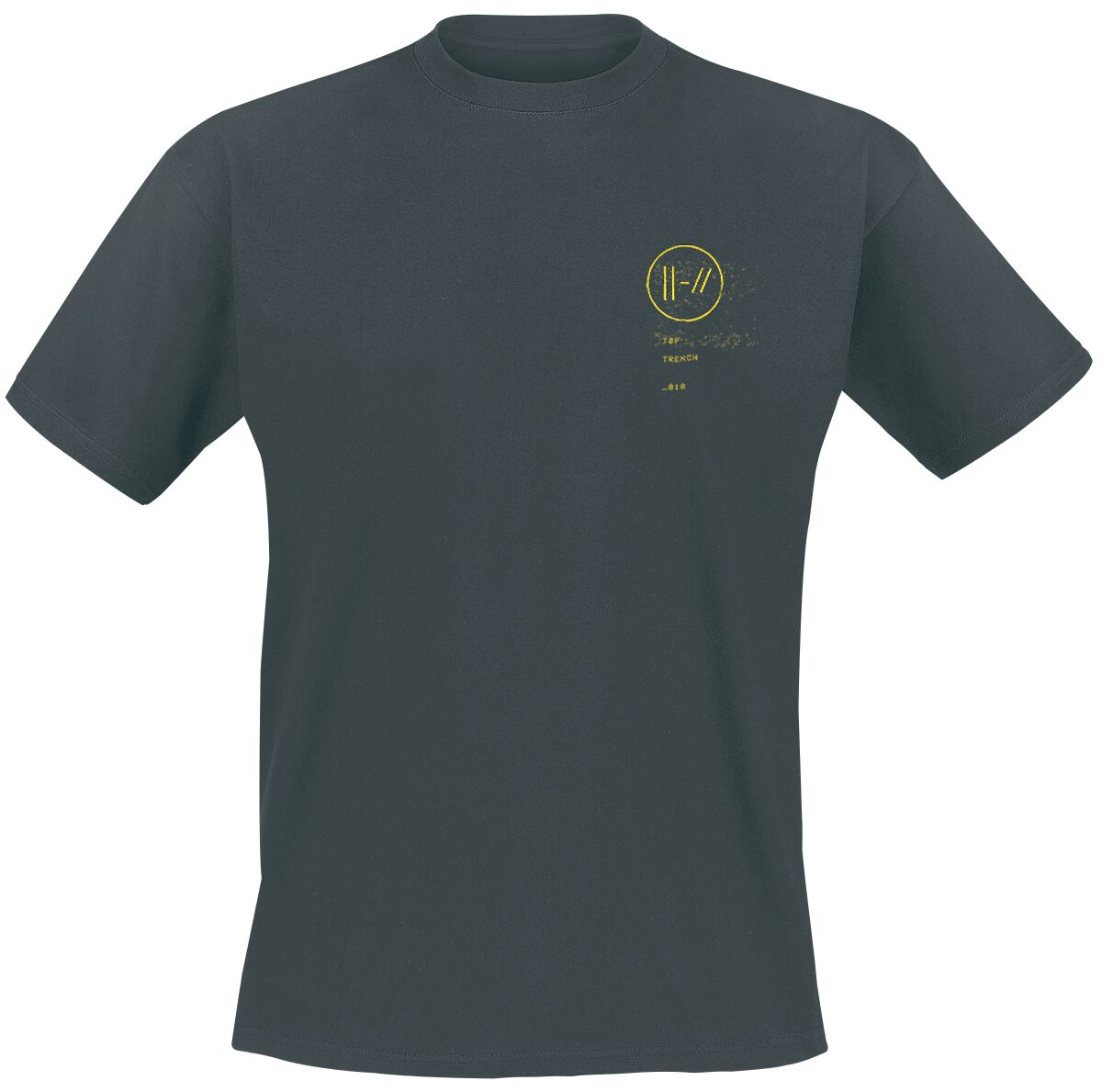 Image of   Twenty One Pilots Bandito Circle T-Shirt aske-sort