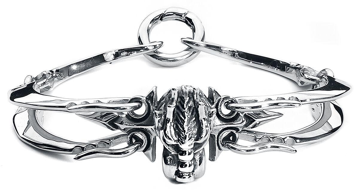 Image of   Wildcat Tribal Dragon armbånd Armbånd sølvfarvet