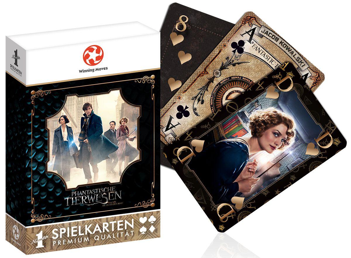 Image of   Fantastic Beasts Fantastic Beasts - spillekort Spillekort Standard