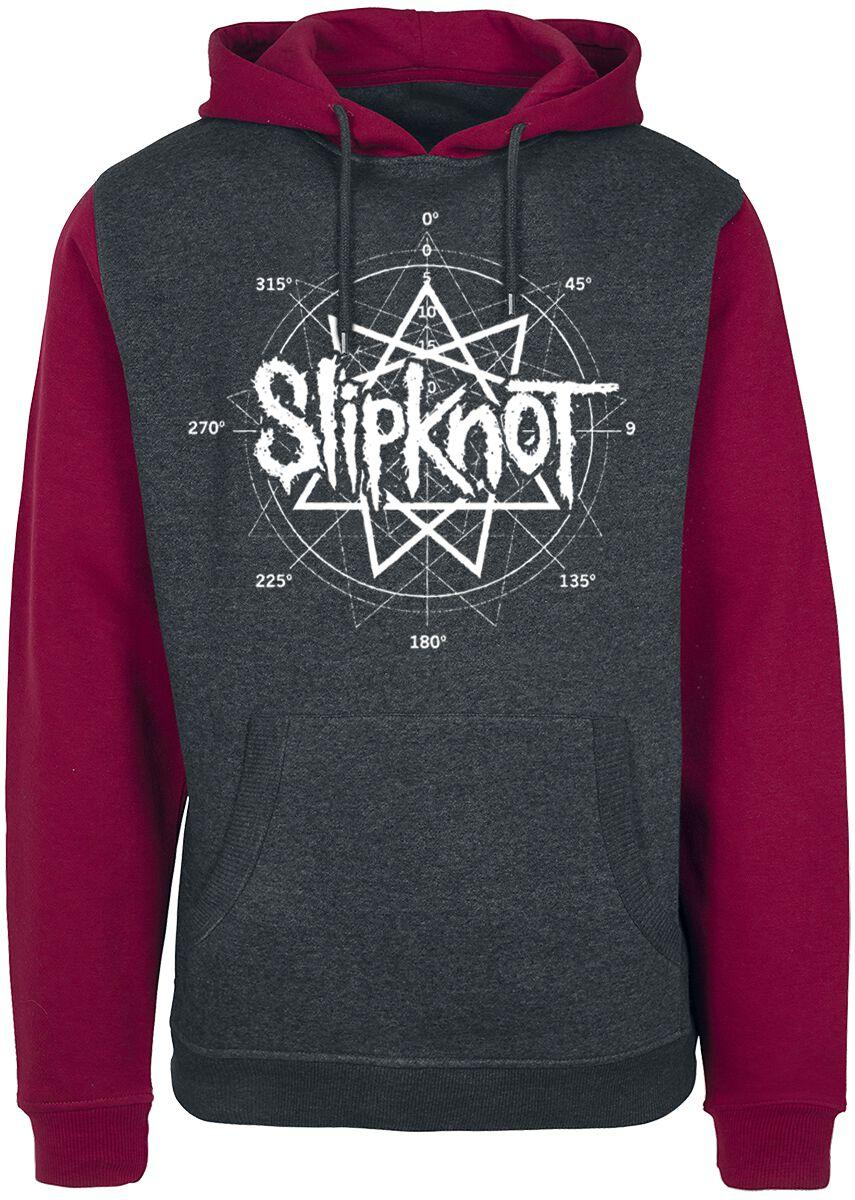 Image of   Slipknot All Hope Blood Hættetrøje rød-grå