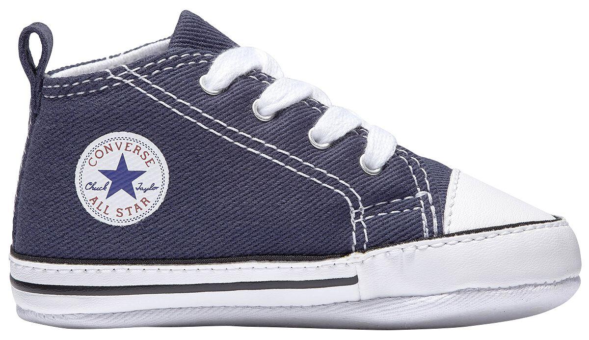 Image of   Converse Chuck Taylor First Star - Hi Babysko navy