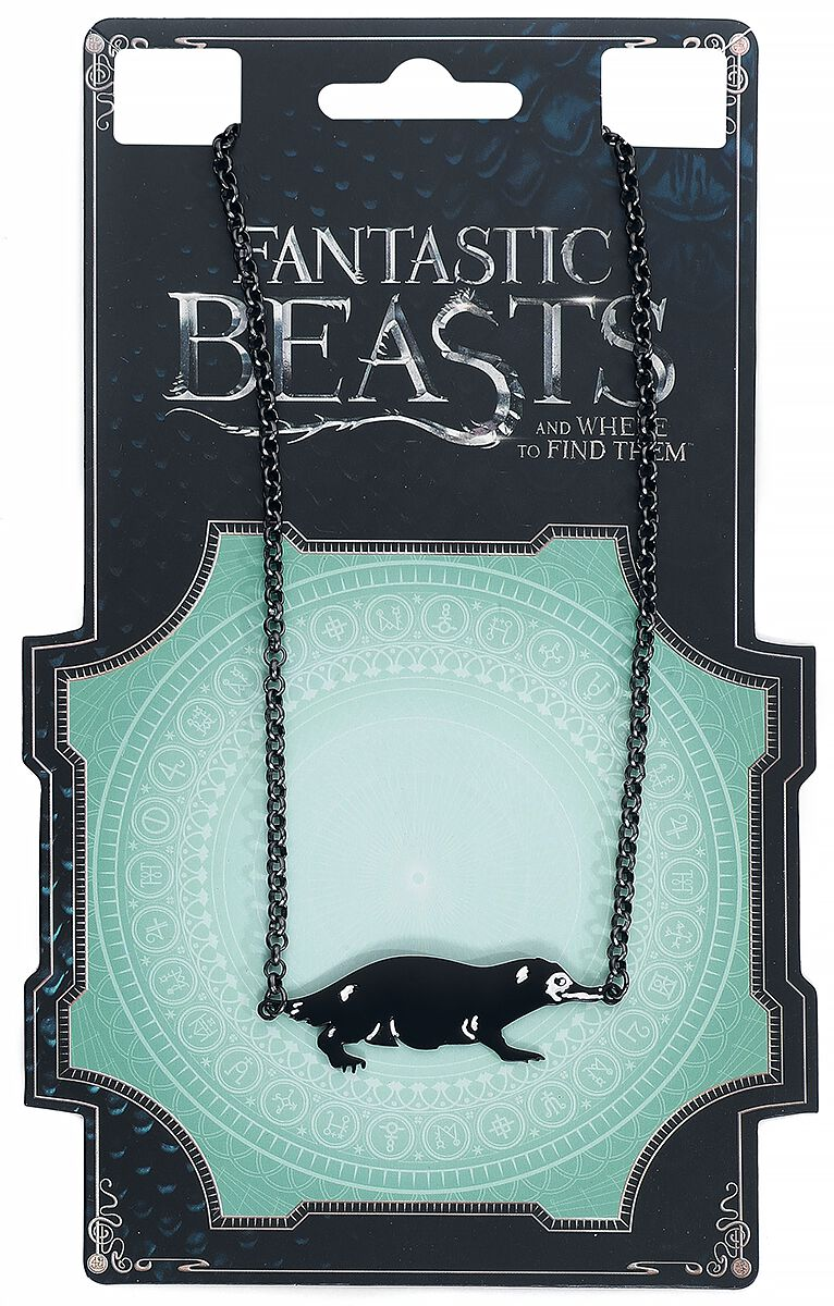 Image of   Fantastic Beasts Niffler Halskæde sort