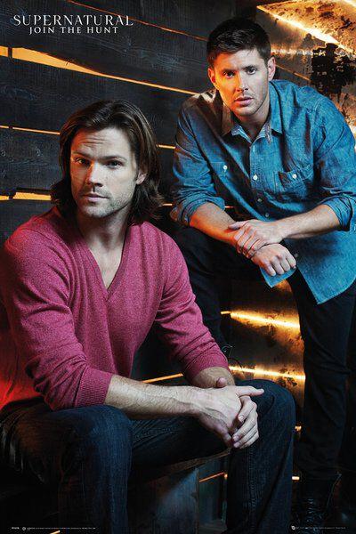 Image of   Supernatural Brothers Plakat multifarvet